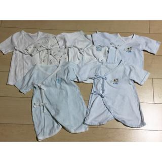 ディズニー(Disney)のベビー服6枚セット(肌着/下着)