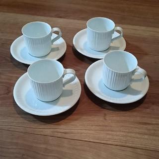 白山陶器 - コーヒーカップ&ソーサー  4客セット