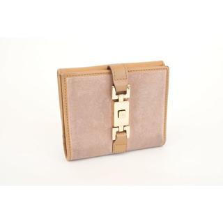 4c4502798846 グッチ(Gucci)のGUCCI グッチ ジャッキーライン 2つ折り 両開き 財布 ピンク(財布