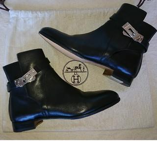 エルメス(Hermes)のRin様専用HERMES☆neoケリー ショート ブーツ黒37.5(ブーツ)