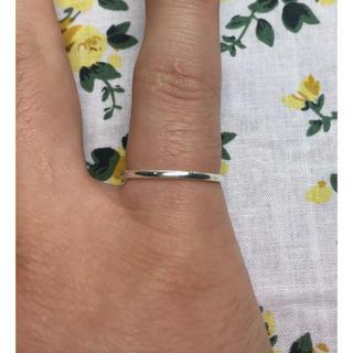 シルバーシンプル丸リング(4号)(リング(指輪))