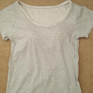 MUJI (無印良品) - 無印良品カップ付TシャツS