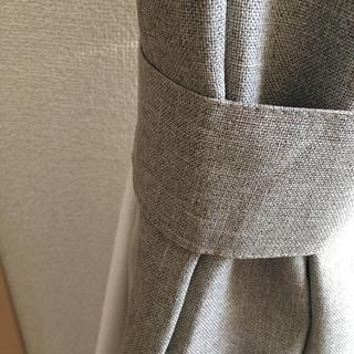 ムジルシリョウヒン(MUJI (無印良品))のMUJI 遮光カーテン ※希望あればオマケでレースカーテンお付けします(カーテン)