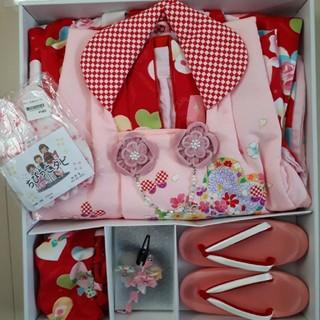 七五三 着物 3歳女の子向け セット(和服/着物)