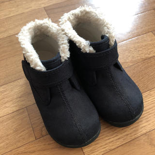 ムジルシリョウヒン(MUJI (無印良品))の【無印良品】ムートンブーツ14センチ(ブーツ)