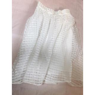 アントマリーズ(Aunt Marie's)のAUNT MARIE'S チュールスカート(ひざ丈スカート)