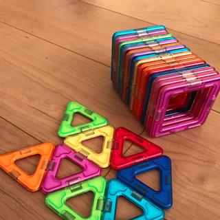 ボーネルンド(BorneLund)のマグフォーマー 正方形17枚 & 三角8枚(その他)