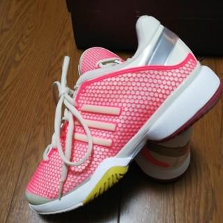 アディダス(adidas)のレディース*アディダス* ステラ バリケード  オールコート用 *23(シューズ)