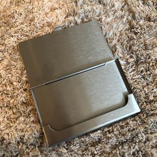 ムジルシリョウヒン(MUJI (無印良品))のカードケース無印(名刺入れ/定期入れ)