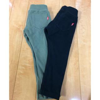 デビロック(DEVILOCK)のデビロック スリムパンツ ズボン 2本セット 黒 カーキ 95サイズ  (パンツ/スパッツ)