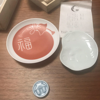 ハサミ(HASAMI)のマルヒロ 馬場商店 日本のいわれ 笑門来福(食器)