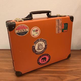 グローブトロッター(GLOBE-TROTTER)の美品 送料無料 グローブトロッター ブリーフ ビジネス ケース(トラベルバッグ/スーツケース)