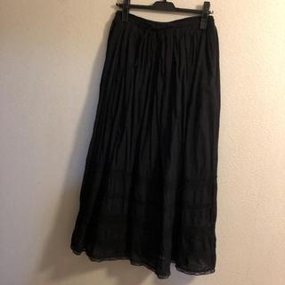 ソイル(SOIL)の美品☆SOIL☆レーススカートtantan(ロングスカート)
