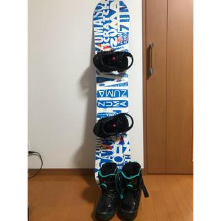 ケーツー(K2)のレディース スノーボードセット(ボード)