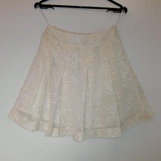 ネットディマミーナ(NETTO di MAMMINA)の超美品☆ネットディマミーナ 雪の結晶柄 スカート(ミニスカート)