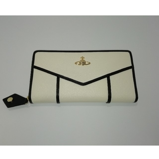 ヴィヴィアンウエストウッド(Vivienne Westwood)のヴィヴィアンウエストウッド ホワイト ブラック 長財布 (財布)