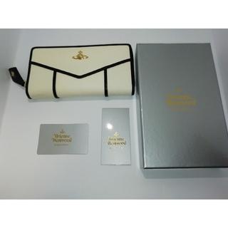 ヴィヴィアンウエストウッド(Vivienne Westwood)のヴィヴィアンウエストウッド ホワイト ブラック 長財布 新品未使用(財布)