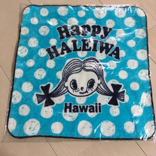 ハレイワ(HALEIWA)の『 HAPPY HALEIWA 』ハンドタオル(ハンカチ)
