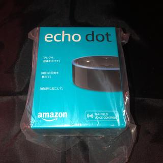 エコー(ECHO)の新品未開封 アマゾン Amazon echo dot(スピーカー)