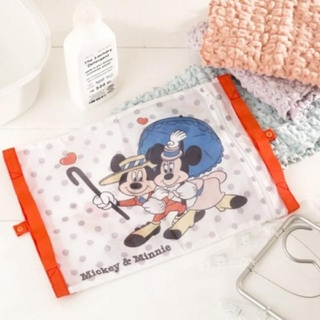 ディズニー(Disney)のミッキーマウス&ミニーマウス ランドリーネット 洗濯ネット(日用品/生活雑貨)