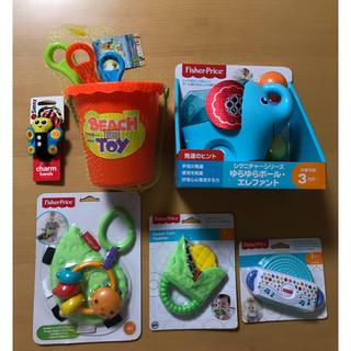 フィッシャープライス(Fisher-Price)のはーちゃんママ様専用 新品 おもちゃ 6点セット(がらがら/ラトル)