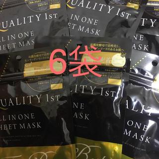 クオリティファースト(QUALITY FIRST)のクオリティファースト シートマスク 3枚✖︎6袋 パック(パック / フェイスマスク)