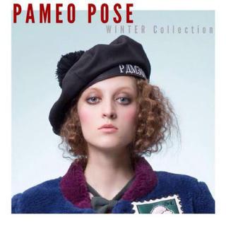 パメオポーズ(PAMEO POSE)のPAMEO POSE PP TEAM BERET(ハンチング/ベレー帽)
