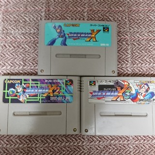 スーパーファミコン ロックマンX 3本