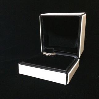 エムズコレクション(M's collection)のM's collection❁︎シルバー&キュービック❁︎スカル リング(リング(指輪))