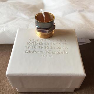 マルタンマルジェラ(Maison Martin Margiela)のM新品60%off マルジェラ ボルトナット リング マルチ(リング(指輪))