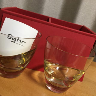 スガハラ(Sghr)の新品 sugahara オールドグラスMサイズ 2つ入り sghr記念日 誕生日(グラス/カップ)