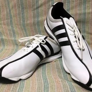 アディダス(adidas)の手渡し対応可 アディダス adidas ゴルフシューズ  ホワイト 27cm(シューズ)