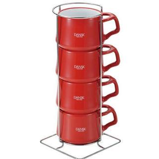 ダンスク(DANSK)の【新品未使用】ダンスク DANSK コンベントスタイル ストーンウェアミニカップ(グラス/カップ)