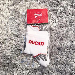 未開封ducati靴下