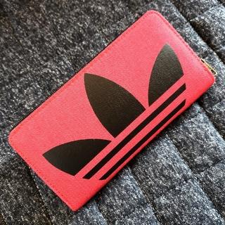 アディダス(adidas)のadidas デニム ラウンドファスナー 長財布 ウォレット(財布)