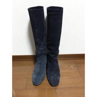 サルトル(SARTORE)のお値下げ‼️極美品☆SARTORE サルトル スエード  ロングブーツ 38(ブーツ)
