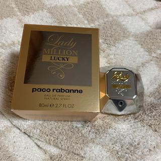 パコラバンヌ(paco rabanne)のPaco rabanne lady million lucky 香水(香水(女性用))
