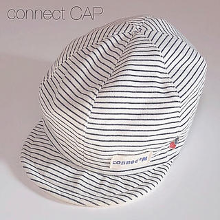 コネクト(connect)の帽子 キャップ CAP connect  cap シンプル ゴム付き 男女兼用(帽子)