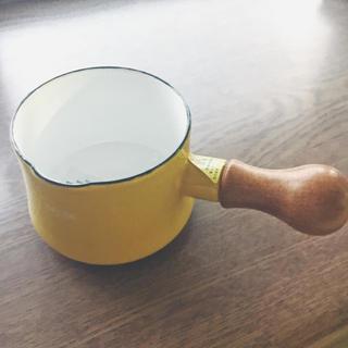ダンスク(DANSK)の新品未使用品! ダンスク バターウォーマー イエロー(鍋/フライパン)