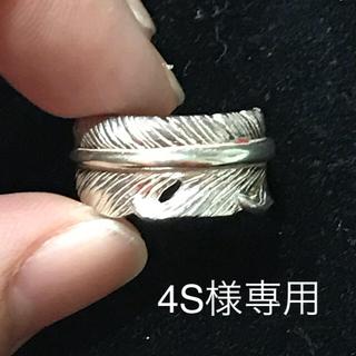ゴローズ(goro's)のTADY&KING フェザー ピンキーリング(リング(指輪))