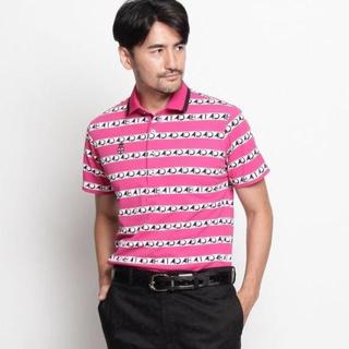 アダバット(adabat)のメ1096 アダバット(メンズ)プリント半袖ポロシャツ定価18,000円(ポロシャツ)