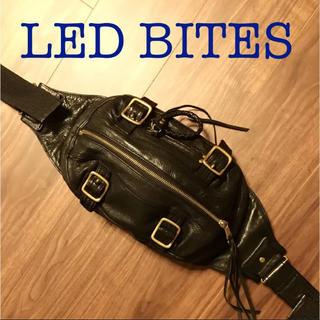エルイーディーバイツ(L.E.D.BITES)の美品!LEDBITES.ショルダーバッグ、メンズバッグ(ショルダーバッグ)