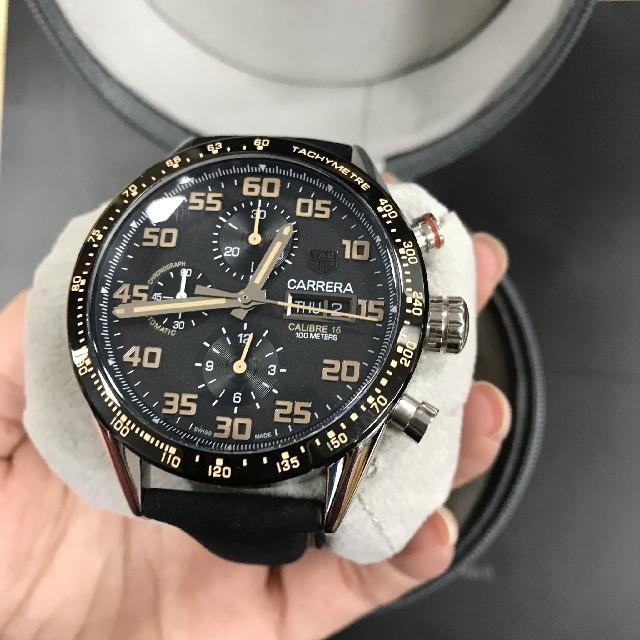 best service b1aab f977e TAG Heuer - TAG HEUER タグ・ホイヤー 腕時計 メンズ 黒の通販 ...
