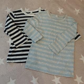 MUJI (無印良品) - 無印良品  長袖Tシャツ 2枚セット