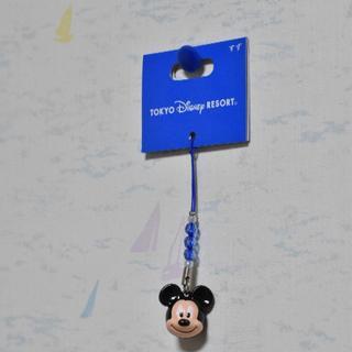 ディズニー(Disney)のミッキーマウスストラップ(キーホルダー/ストラップ)