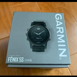 ガーミン(GARMIN)の新品ガーミン GARMIN FENIX5S Sapphire Black 日本版(腕時計(デジタル))
