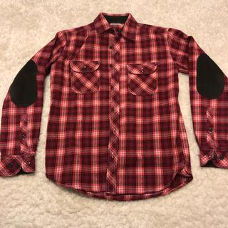 GU - GUチェックシャツ