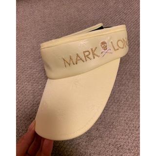 マークアンドロナ(MARK&LONA)のマーク&ロナ サンバイザー 新品(ウエア)