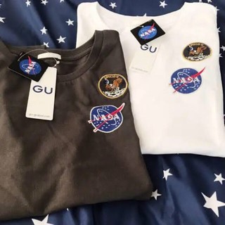 GU - GU NASA Tシャツ