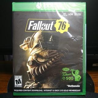 エックスボックス(Xbox)の新品未開封 Fallout 76 海外版 XBOX ONE(家庭用ゲームソフト)